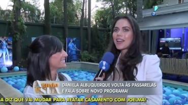 Daniela Albuquerque assume os domingos na RedeTV! (2)