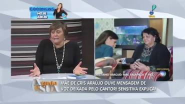 M�e de Cristiano Ara�jo ainda ouve mensagem de voz deixada pelo cantor (5)