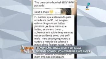 Garota morre do jeito que sonhou e deixa mensagem em rede social