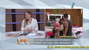 'Aquele Thiago n�o pode ficar l�', opina Sonia sobre reality (4)