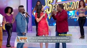 Sonia Abr�o elogia entrevista de Netinho a Dani Albuquerque (6)
