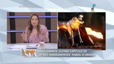 Sonia Abr�o sobre novela b�blica: 'Bezerro de ouro com cara de porco' (3)
