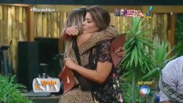 Sonia Abr�o faz boca de urna contra Marcelo (2)
