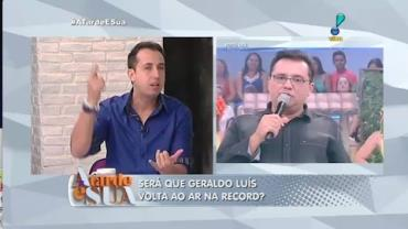 Thiago sobre Geraldo: