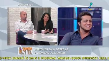 Gretchen revela que ainda estranha barba de Thammy (3)