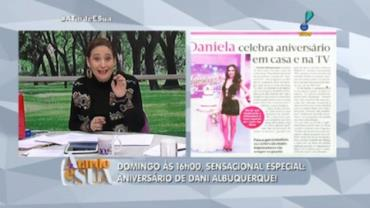Sonia para Dani Albuquerque: