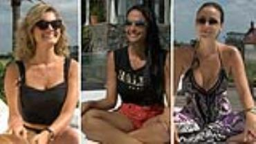 Veja os perfis das tr�s finalistas do The Bachelor