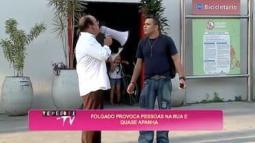 Folgado provoca pedestre com campanha 'Cidade Bonita'