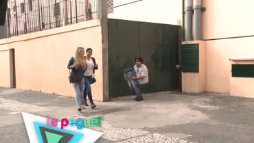 Homem sem perna causa espanto nas ruas