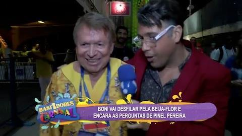 Boni elogia Pinel Pereira: 'mais parecido que Paulo Betti'