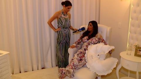 Fl�via Noronha mostra os detalhes do quarto de sua filha, Nina