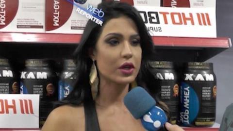 Gracyanne Barbosa: 'Minha m�e deixou de comer para que eu comesse'