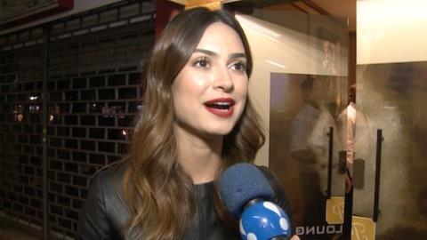 Thaila Ayala explica flagra com Vilhena: 'foi a 1� coisa que fiz no Brasil'
