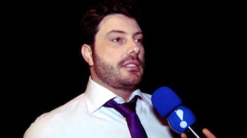 Danilo Gentili fala de vencer J� em audi�ncia: '� muito legal, cara'