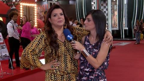 Mara Maravilha insinua que pode voltar � TV