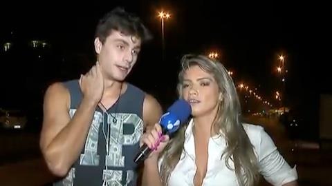 Fani Pacheco enquadra o gal� Paulo Dalagnoli