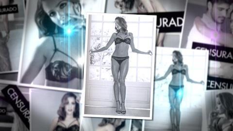 Renata Dominguez faz ensaio picante s� de lingerie