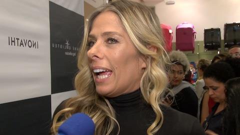 Adriane Galisteu elogia a beleza da nova esposa de Justus