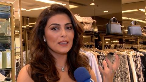 'N�o d� para comer de tudo e ficar magra', dispara Juliana Paes