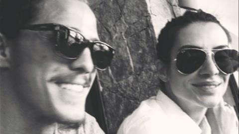 R�mulo Neto garante que n�o tem ci�mes de Cleo Pires: 'tudo bem resolvido'