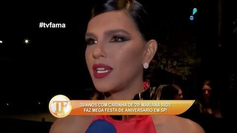 Mariana Rios completa 30 anos e faz megafesta: 'estou realizada'