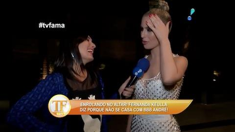 Fernanda Keulla revela que ficou 'p�o dura' ap�s ganhar pr�mio do BBB
