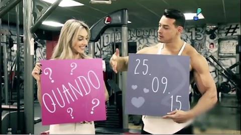 Juju Salimeni e Felipe Franco v�o se casar