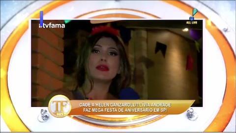 L�via Andrade faz mega festa de anivers�rio em S�o Paulo