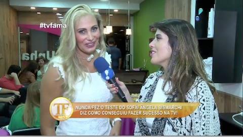 �ngela Bismarchi reclama de falta de oportunidades e vai deixar o Brasil