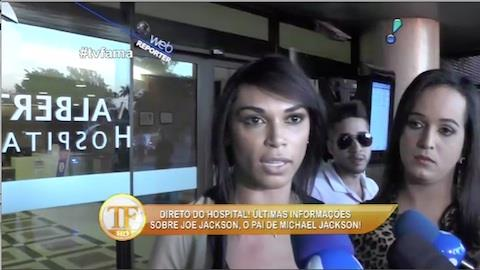 Mulher apontada como 'affair' de Joe Jackson vai a hospital