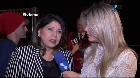 Roberta Miranda comenta foto nua com guitarra