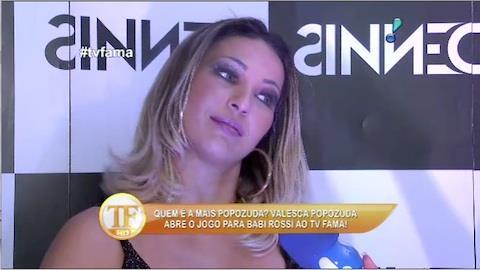 Valesca Popozuda conta se vai morar no ABC paulista