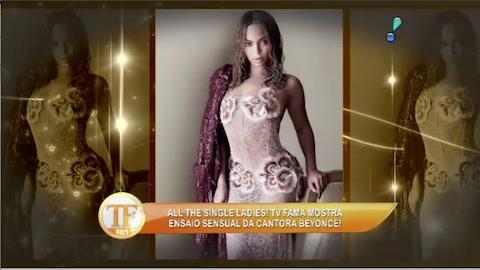 Beyonc� � a primeira cantora negra a estampar a capa de Vogue