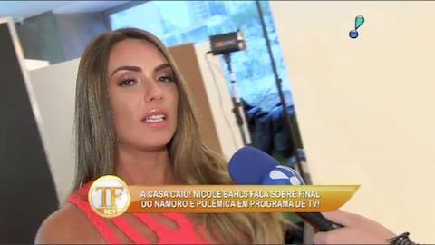 Nicole Bahls revela que pode trabalhar com Sabrina Sato