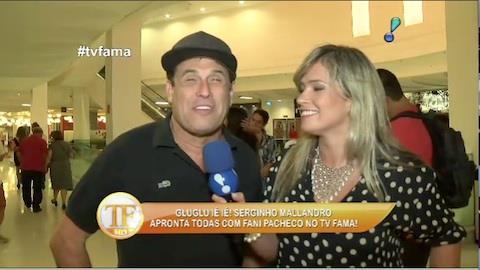 S�rgio Mallandro diz que ex-BBB Aline � apenas uma 'amiga especial'