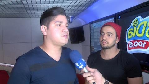 Sertanejos Henrique e Diego falam do sucesso da m�sica 'Su�te 14'