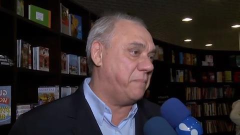 Marcelo Rezende sobre Datena na pol�tica: 'se n�o est� louco, vai ficar'
