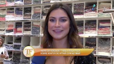 Thaila Ayala fala sobre camiseta pol�mica no Rock in Rio