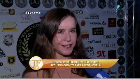 'N�o usem mais meu nome em v�o', desabafa Luc�lia Santos