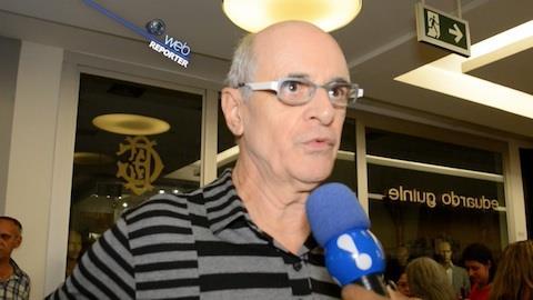 Marcos Caruso comemora sucesso do novo 'Seu Peru': 'muito feliz'