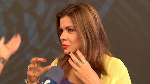 Mara Maravilha brinca sobre macumba para Ang�lica: 'usei frango de padaria'