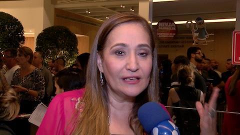 'S� se fosse mulher do Fara�', diz Sonia Abr�o sobre participar de novela