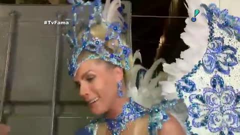 'Esse Carnaval est� sendo o mais gostoso de todos', confessa Ana Hickmann