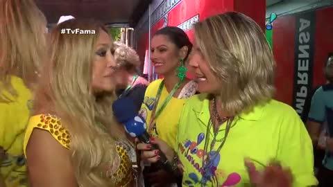 'Samba no p�? Nem tanto', confessa Susana Vieira antes de desfile