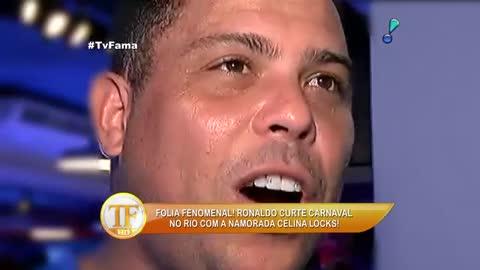 Ronaldo 'Fen�meno' fala porqu� trocou a folia pela neve no Carnaval