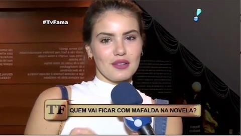 Camila Queiroz fala de papel em novela: