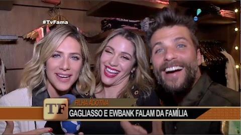 Bruno Gagliasso e Giovanna Ewbank falam sobre a adoção da pequena Chissomo