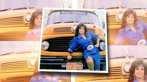 Sula Miranda n�o cede t�tulo de Rainha dos Caminhoneiros a Paula Fernandes