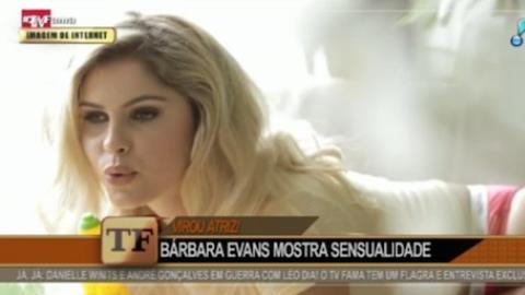 Bárbara Evans estreia como atriz e ganha até elogios de Cauã Reymond