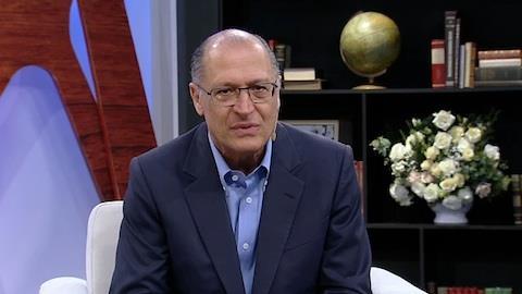 'Não há dor maior que perder um filho', diz Alckmin